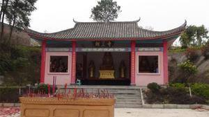 朝皇寺庙从古到今生态园(古今花海)